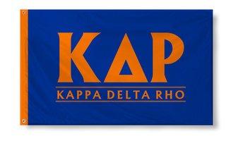 Kappa Delta Rho Custom Line Flag