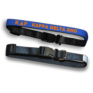Kappa Delta Rho Dog Collar