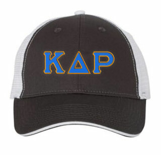 Kappa Delta Rho Double Greek Trucker Cap