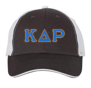 Kappa Delta Rho Double Greek Trucker Cap