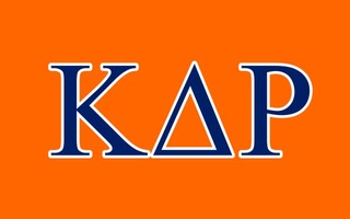 Kappa Delta Rho Flag Decal Sticker