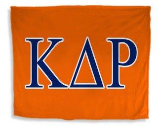Kappa Delta Rho Flag Giant Velveteen Blanket