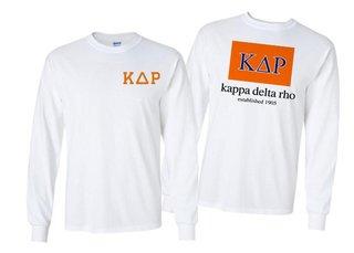 Kappa Delta Rho Flag Long Sleeve T-shirt
