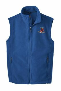 Kappa Delta Rho Fleece Crest - Shield Vest