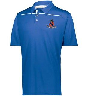 Kappa Delta Rho Greek Crest Emblem Defer Polo