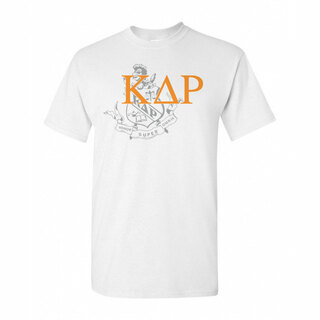 Kappa Delta Rho Greek Crest - Shield T-Shirt