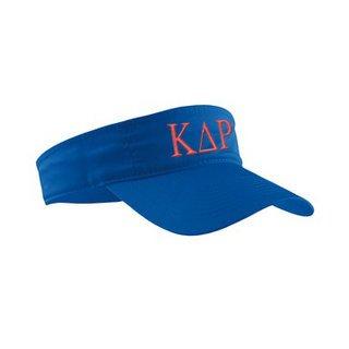 Kappa Delta Rho Greek Letter Visor