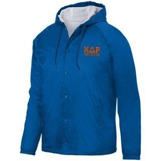 Kappa Delta Rho Hooded Coach's Jacket