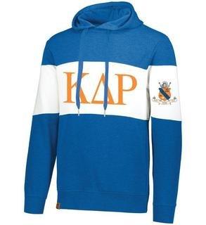 Kappa Delta Rho Ivy League Hoodie W Crest On Left Sleeve