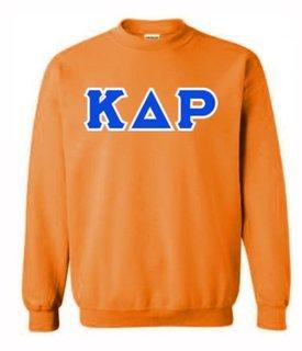 Kappa Delta Rho Sewn Lettered Crewneck Sweatshirt