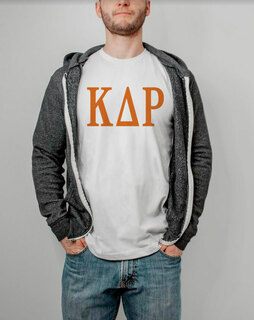 Kappa Delta Rho Lettered Tee - $14.95!