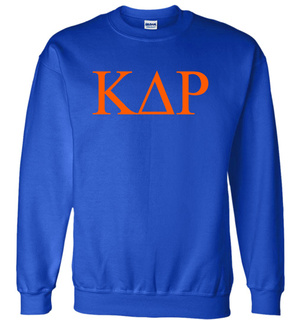 Kappa Delta Rho Lettered World Famous Greek Crewneck