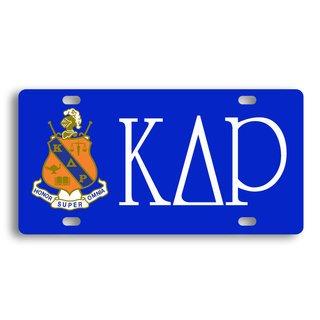 Kappa Delta Rho License Cover