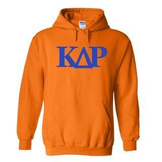 Kappa Delta Rho Logo Hooded Sweatshirt