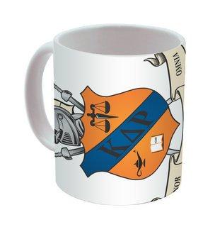 Kappa Delta Rho Mega Crest - Shield Coffee Mug