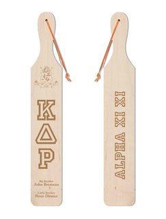Kappa Delta Rho Old School Wood Greek Paddle