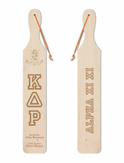 Kappa Delta Rho Old School Wood Greek Paddle