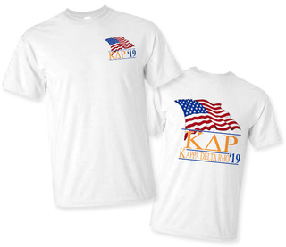 Kappa Delta Rho Patriot Limited Edition Tee- $15!