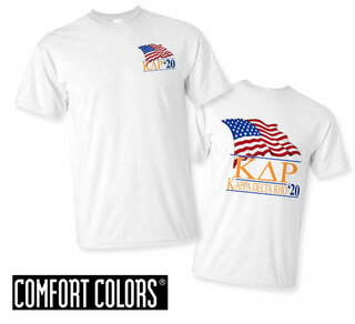 Kappa Delta Rho Patriot  Limited Edition Tee - Comfort Colors