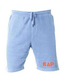 Kappa Delta Rho Pigment-Dyed Fleece Shorts