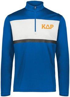 Kappa Delta Rho Prism Bold 1/4 Zip Pullover