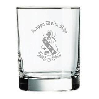 Kappa Delta Rho Old Style Glass