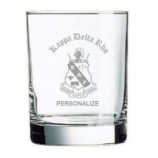 Kappa Delta Rho Old Style Glass