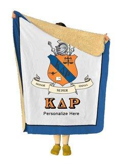 Kappa Delta Rho Sherpa Lap Blanket