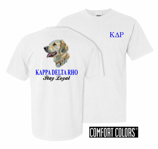 Kappa Delta Rho Stay Loyal Comfort Colors T-Shirt