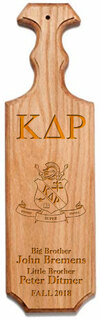 Kappa Delta Rho Traditional Greek Paddle