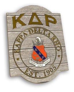 Kappa Delta Rho Traditional Sign