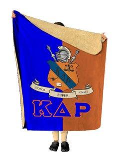 Kappa Delta Rho Two Tone Two Tone Sherpa Lap Blanket