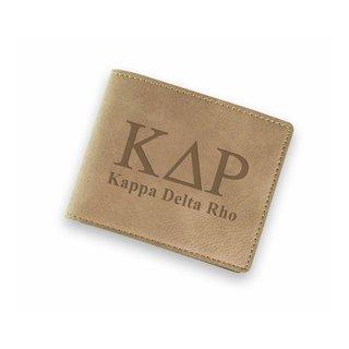 Kappa Delta Rho Fraternity Wallet