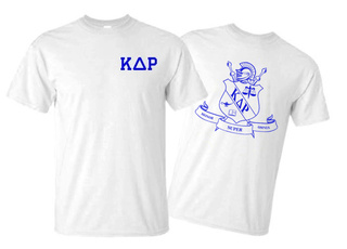 Kappa Delta Rho World Famous Crest - Shield Tee