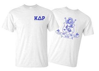 Kappa Delta Rho World Famous Crest - Shield Tee