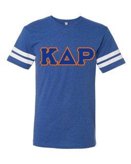 Kappa Delta Rho World Famous Greek Twill Football Fine Jersey Tee