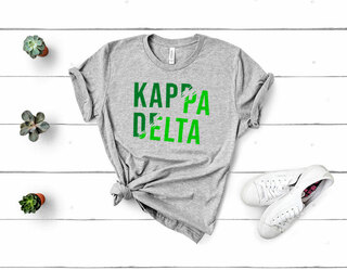 Kappa Delta Ripped Favorite T-Shirt