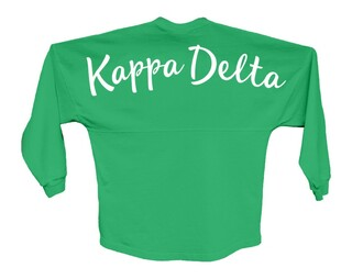 Kappa Delta Script Jersey