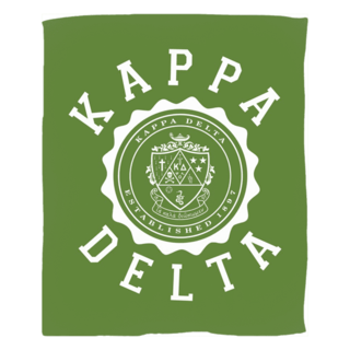 Kappa Delta Seal Fleece Blanket