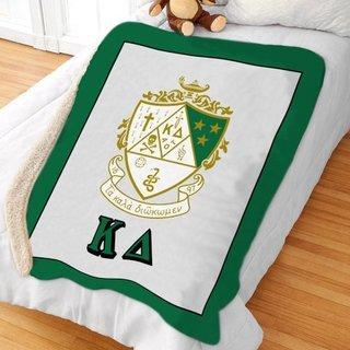 Kappa Delta Sherpa Lap Blanket