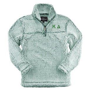 Kappa Delta Sherpa Quarter Zip Pullover