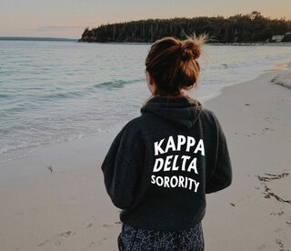 Kappa Delta Social Hoodie