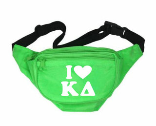 Kappa Delta Sorority Fanny Pack