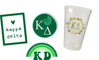Kappa Delta Sorority Large Pack $15.00