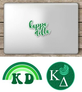 Kappa Delta Sorority Sticker Collection - SAVE!