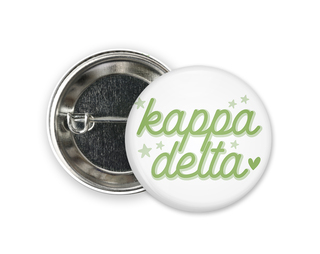 Kappa Delta Star Button