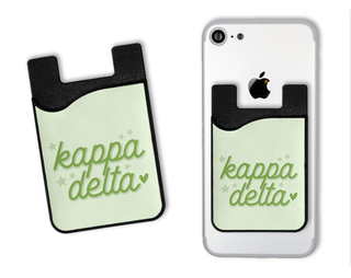 Kappa Delta Star Card Caddy