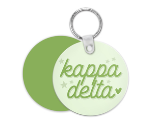 Kappa Delta Star Key Chain