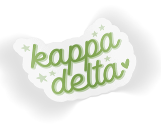 Kappa Delta Star Sticker