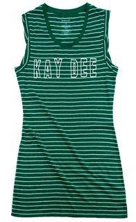 Kappa Delta Striped Tee Dress